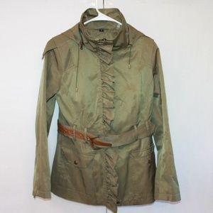Guess Women's Size Medium Army Green Jacket